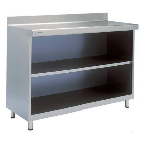 Mueble mesa estanter a 1000x350x1045 ma 1035 edenox - Estanterias acero inoxidable ikea ...